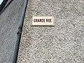Panneau Grande Rue à Mollon.JPG