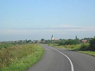 Srpski Krstur Village in Vojvodina, Serbia