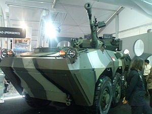 Anoa (armoured personnel carrier) - Image: Panser canon 2