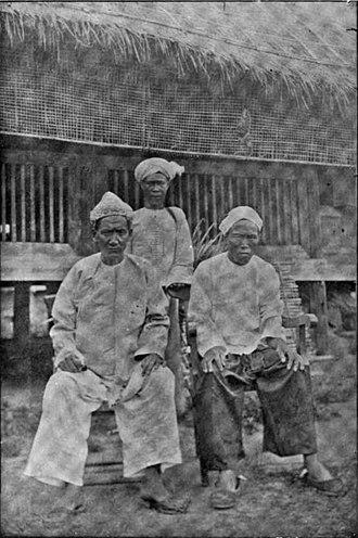 Panthays - Panthay men in British Burma.