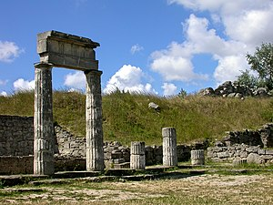 Roman Crimea - Ruins of Panticapaeum, main city of the Bosporan kingdom during Roman times