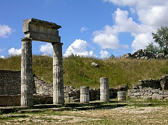 Bosporan Kingdom - Ruins of Panticapaeum, modern Kerch, the capital of the Bosporan Kingdom.