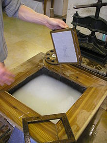 Can someone tell me anything about paper making history?