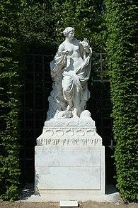Parc de Versailles, Bosquet des Dômes, Galatée, Jean-Baptiste Tuby 01