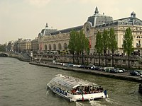 Paris Gare d'Orsay facade riverside downstream 01b Bteaubus.jpg