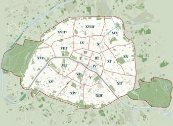 Paris Plan Ville