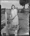 "Parker, Arizona. Mrs. Ruby Snyder, Chemehuevi Indian states, ""I hear that the Japanese are wonderfu . . . - NARA - 536266.tif"