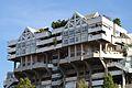 Part superior de l'edifici d'habitatges Espai Verd, València.JPG