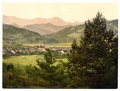 Partenkirchen with Wettersteingebirge, Upper Bavaria, Germany-LCCN2002696275.tif
