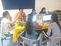 Participants involved in content generation at Jalbodh workshop, Pune.jpg