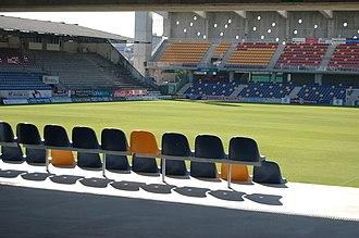 Pontevedra CF - Inside view of Pasarón, 2007