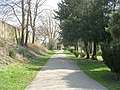 Path in Harden Park - off Harden Road - geograph.org.uk - 1804572.jpg