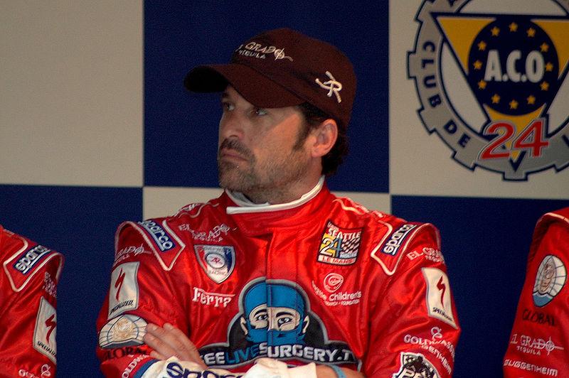 800px Patrick Dempsey Le Mans 2009