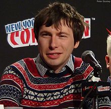 Patrick McHale in 2014 at New York Comic Con - Photo By Peter Dzubay.jpg