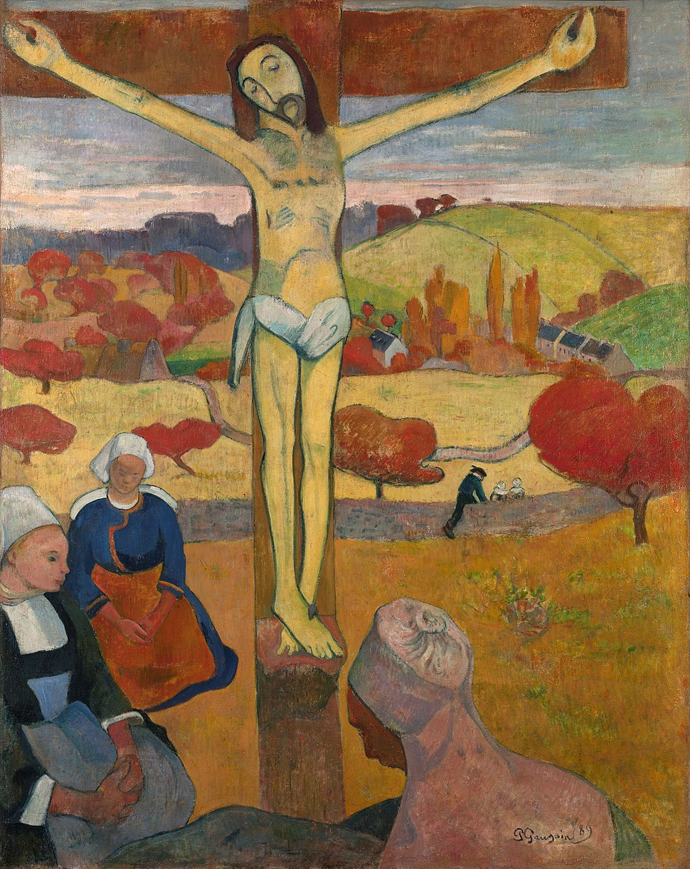 Paul Gauguin - Le Christ jaune (1889)