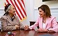 Pelosi meets with Rebiya Kadeer in 2019.jpg