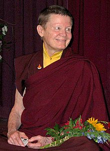 Image of Pema Chodron from Wikipedia