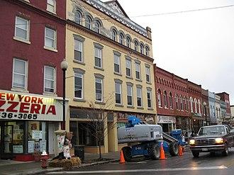 Penn Yan, New York - Historic downtown Penn Yan