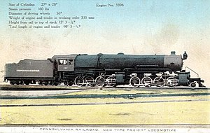 Pennsylvania Railroad engine 3396 HH1 Alco.JPG