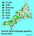 Percentage Cornish speakers 2011.JPG