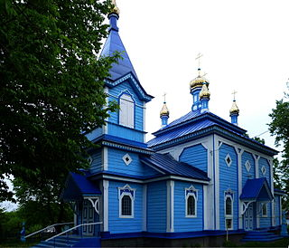 Peremyl Gorokhivskyi Volynska-Pokrovska church-south-west view.jpg