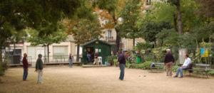 P�tanque au square des Batignolles