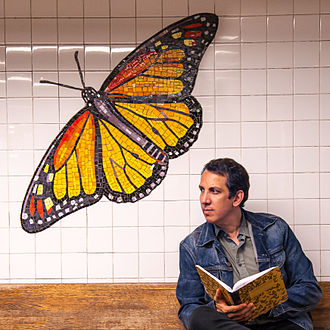 Peter Kuper - Peter Kuper 2014 NYC 81st Street Subway