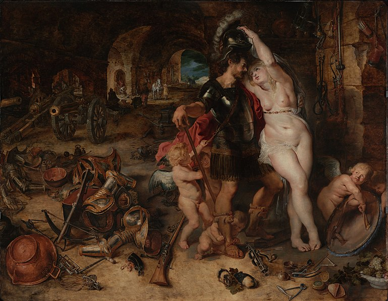 File:Peter Paul Rubens (Flemish) - The Return from War- Mars Disarmed by Venus - Google Art Project.jpg