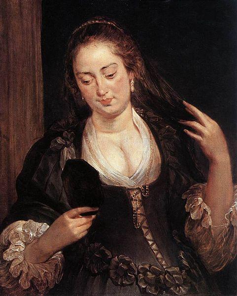 File:Peter Paul Rubens - Woman with a Mirror - WGA20336.jpg