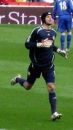 Petr Čech - Čech playing for Chelsea in 2007