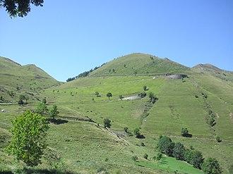 Col de Peyresourde - The eastern approach to the Col de Peyresourde