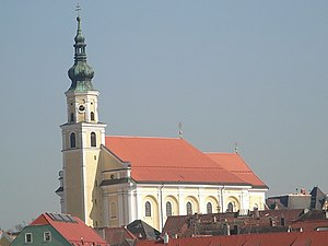Schärding - Image: Pfarrkirche St. Georg, Schärding