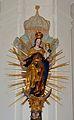 Pfarrkirche hl. Nikolaus, Ratten - Madonna on the crescent.jpg