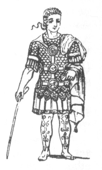 Phalera (military decoration) - Image: Phaleratus
