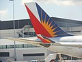 Philippine Airlines tail logo (6240416184).jpg