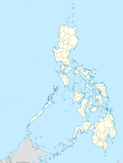 Map of the Philippines showing the location of Metro Manila