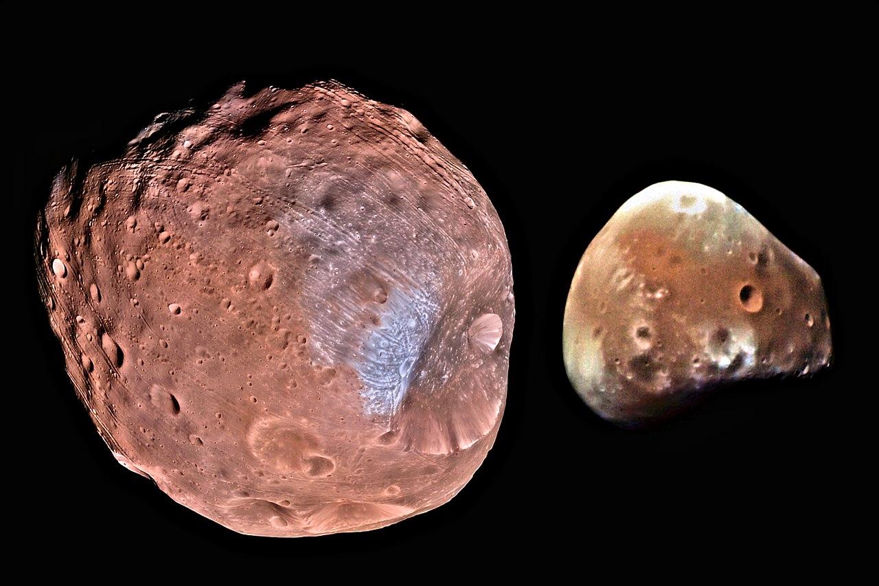 Fobos i Deimos, NASA