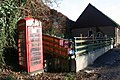 Phone box near the hall - geograph.org.uk - 1612657.jpg