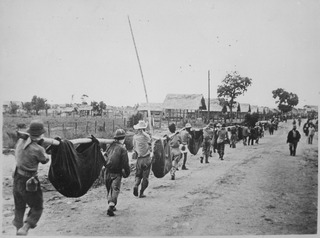 Philippines campaign (1941–1942) Successful invasion of the U.S.-occupied Philippines by Japan during WWII