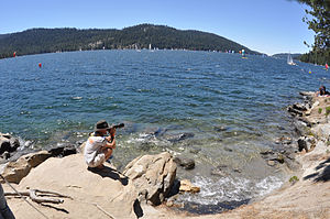 Big Creek Hydroelectric Project - Huntington Lake was the first Big Creek Project reservoir to be completed.
