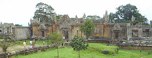 Preah Vihear Temple - Entrance to the temple structure