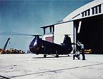Piasecki XHJP-1 Retriever at Naval Air Station Patuxent River, circa in 1950 (NH 101806-KN).jpg