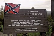 Battle of Picacho Marker. Picacho-Battle of Picacho Marker.jpg