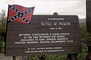 Battle of Picacho Pass - Image: Picacho Battle of Picacho Marker