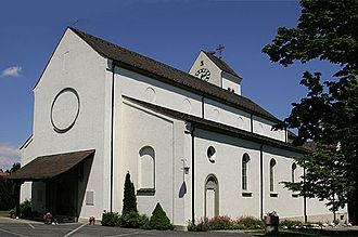 Oberwil, Basel-Landschaft - Catholic Church in Oberwil