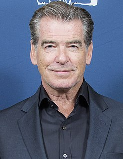 Pierce Brosnan Irish actor, film producer, and environmental activist