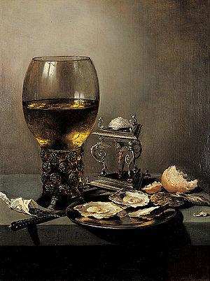 Rummer - Rummer painted by Pieter Claesz in 1643