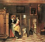 Pieter de Hooch - At the Linen Closet - WGA11712.jpg