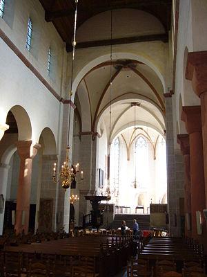 Pieterskerk, Utrecht - Image: Pieterskerk interieur