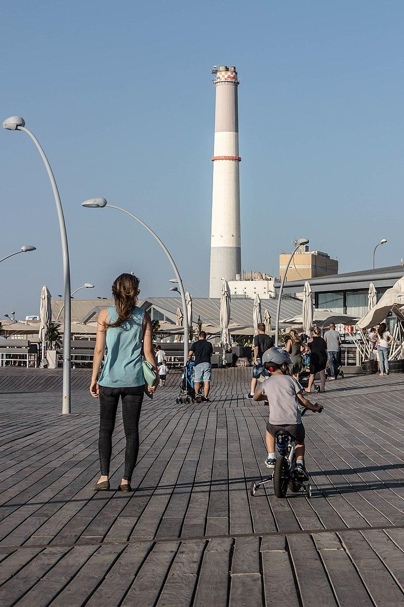 טיילת נמל תל אביב
